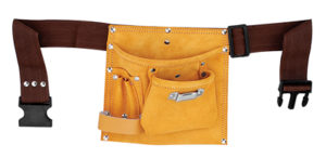 Leather Tool Apron Single Pocket