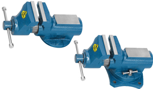 CI Cylindrical Bench Vice Fixed /Swivel