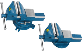 Professional Industrial Bench Vice Fixed/Swivel