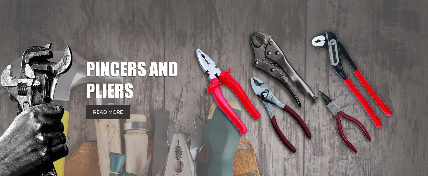 pincers and pliers